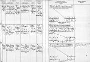Házassági AK - Boross Ilona Izabella és Török Sándor 1907.09.02. Boross József lánya