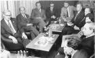 MTSZ Technika Házában tárgyalás Eger 1975
