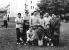 Foci kispályás futballpálya játékosok
