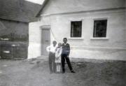 Kovács Károly (Berci), Mikó József, Kovács Erzsébet (Bözsike)