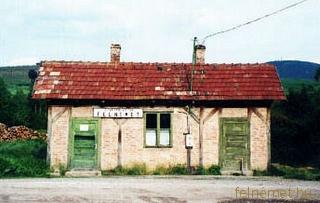 Vasút állomás Felnémeten