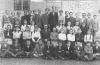 Felnémeti általános iskolások 1950-es évek(középen Németh András tanár)