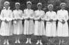 Mária képet vivő felnémeti lányok 1955