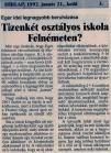 Heves Megyei Hírlap 1992. január 21.; kedd