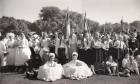 Felnémeti csoportkép 1950-es évekből
