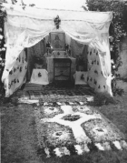 Felnémet régi úrnapi sátor 1960.