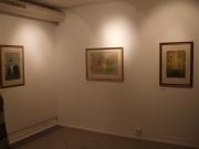 Nagy Ernő festőművész akadémiai székfoglaló kiállítása a Miskolci Galéria Rákóczi-házban.