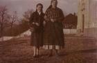 Templom előtt 1950-es évek elején